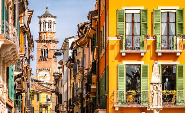 Altstadt von Verona in Italien – Foto