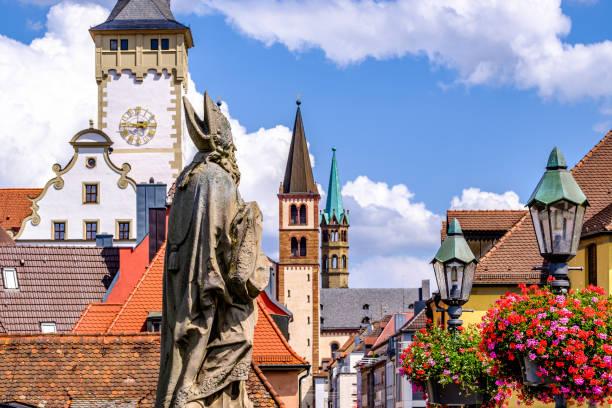 Altstadt von wurzburg in Deutschland – Foto