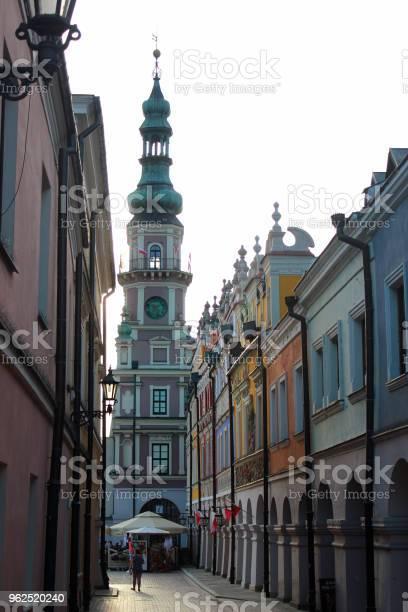 Foto de Cidade Antiga De Zamosc Polônia e mais fotos de stock de Antigo