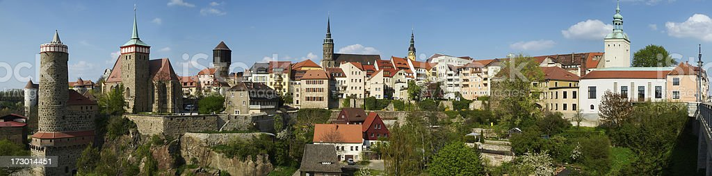 Old Town Panorama royalty-free stock photo