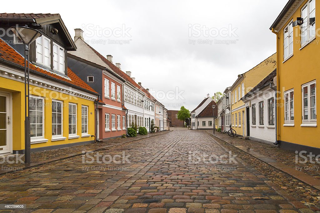 Old town stock photo