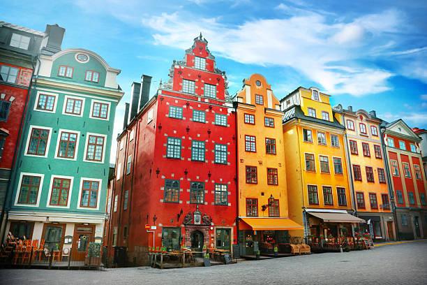 old miasto - szwecja zdjęcia i obrazy z banku zdjęć