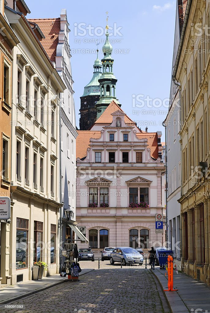 Old town Pirna royalty-free stock photo