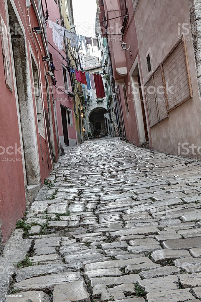 Old town Rovinj royalty-free stock photo