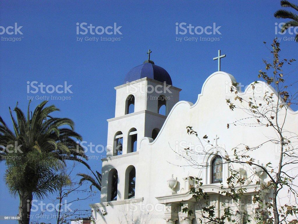 old town san diego church royalty-free stock photo