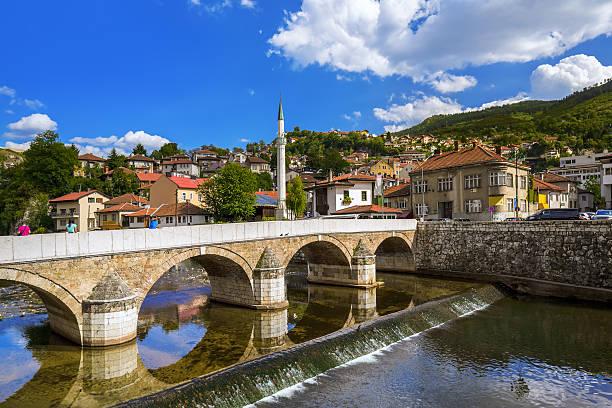Altstadt von Sarajewo und in Bosnien und Herzegowina – Foto