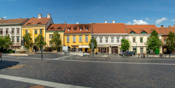 Old Town Sopron - Hungary stock photo