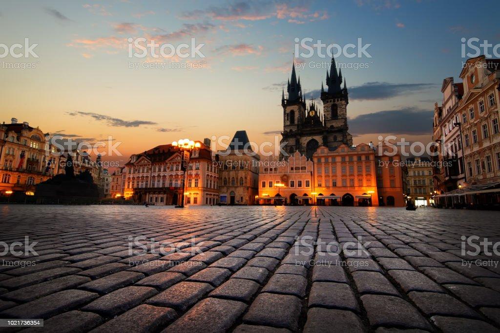 Altstadt-Platz in Prag – Foto