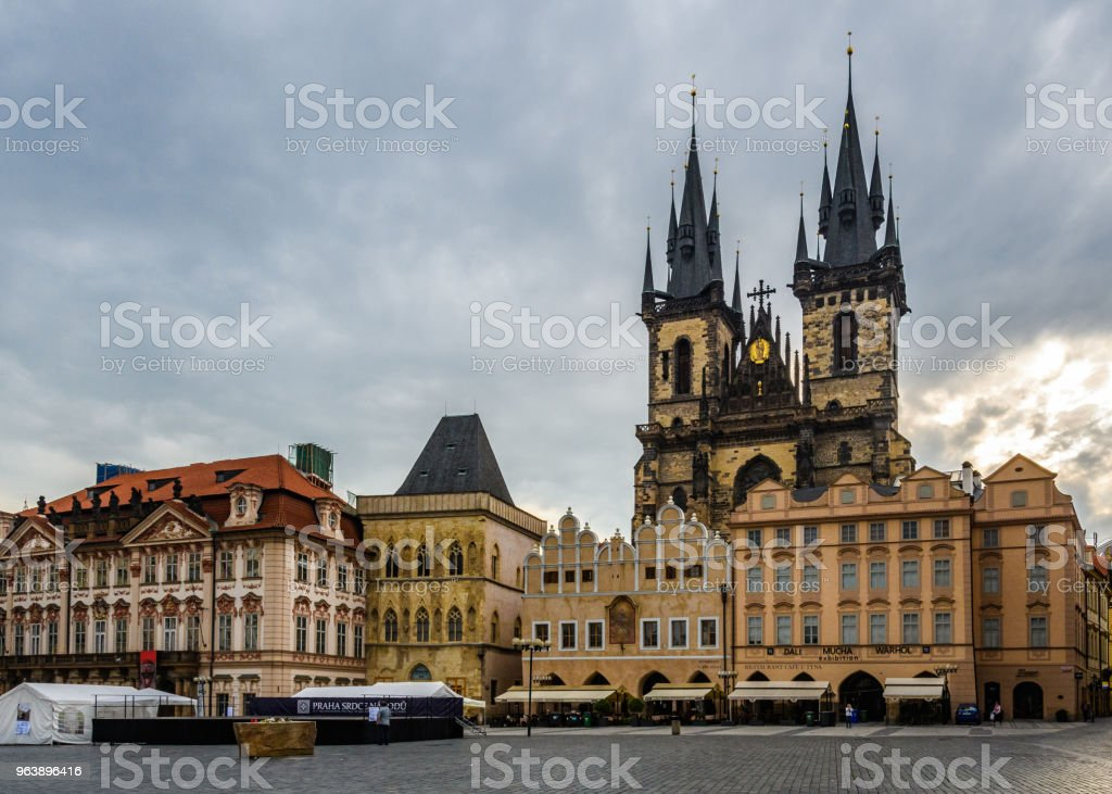 Old Town Square, Prague, Czech Republic - Royalty-free Architecture Stock Photo