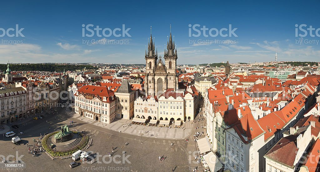 Old Town Square, Prague royalty-free stock photo