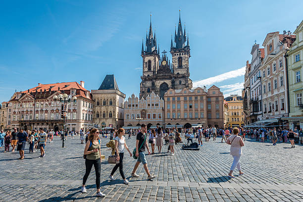 Image result for prague old town square