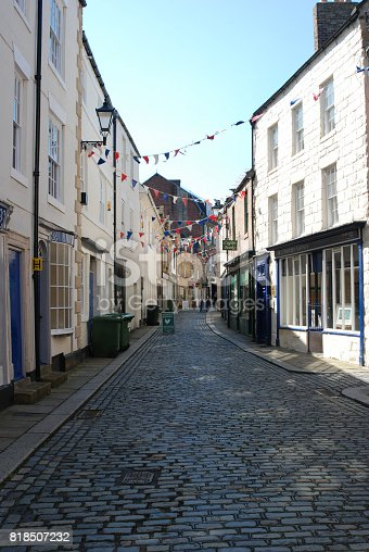 an old narrow street in Hexham