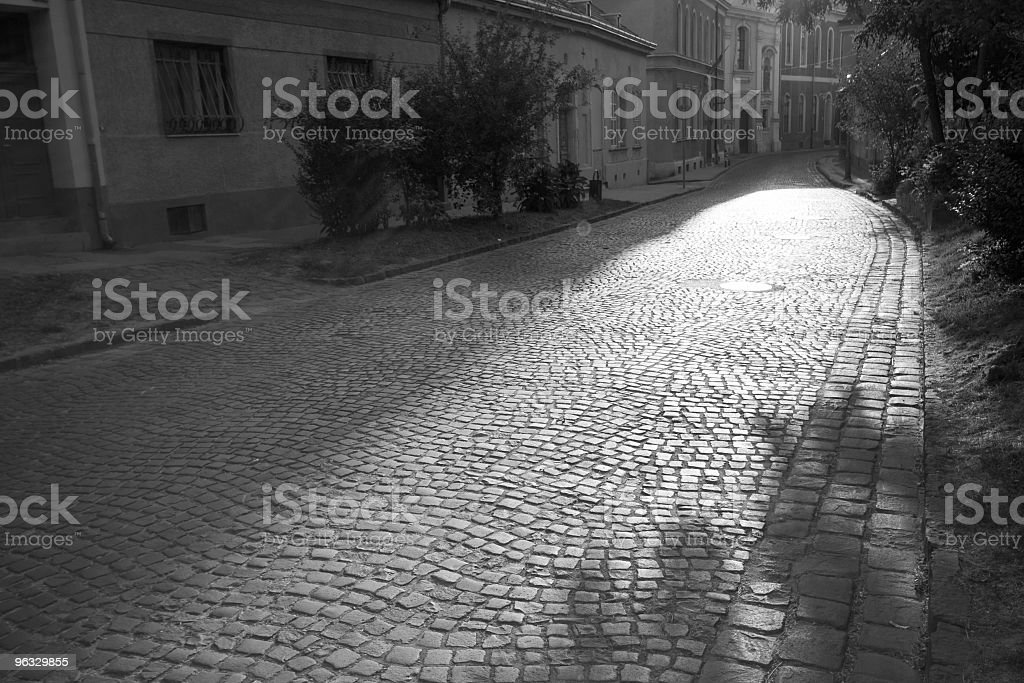 Old town street royalty-free stock photo