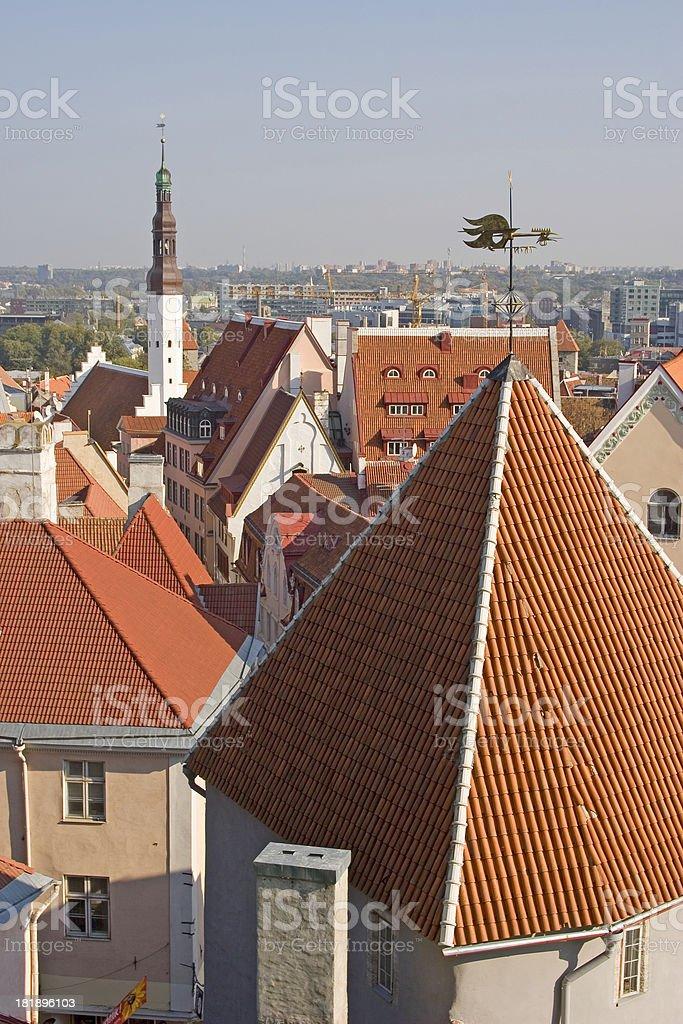 Old Town, Tallinn, Estonia royalty-free stock photo
