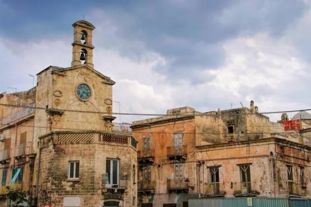alte Stadt Tarent in Apulien, Italien – Foto