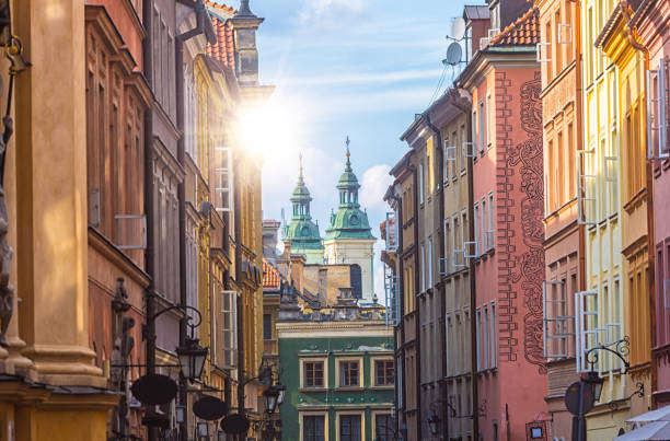 old town warsaw - poland stock photos and pictures
