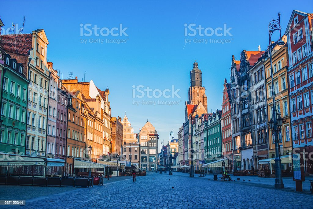 Old town, Wroclaw – Foto