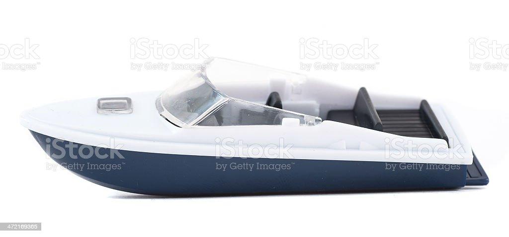 O barquinho-Spielzeuboot - foto de acervo