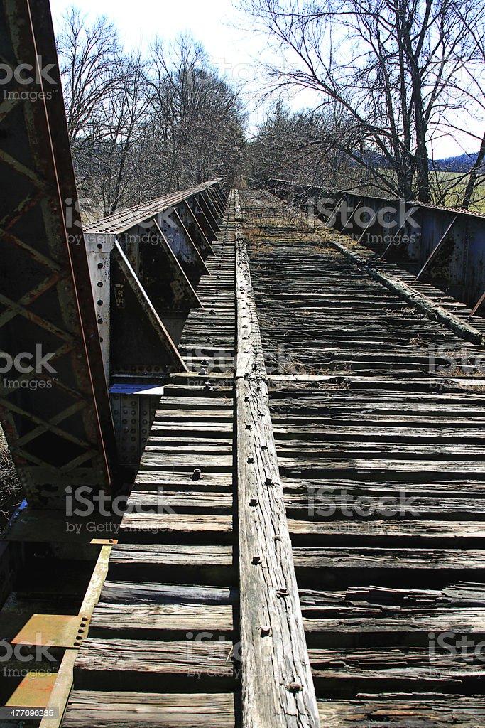 Old Tracks royalty-free stock photo