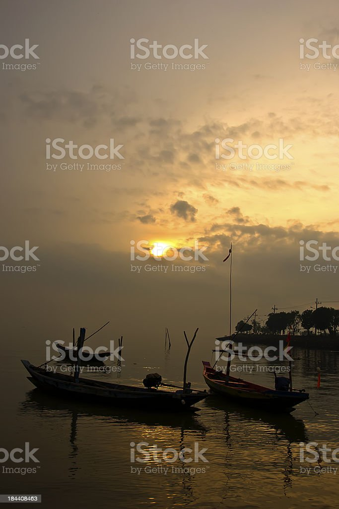 old traditional boat royalty-free stock photo