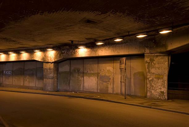 old traffic tunnel - tunnel trafik sverige bildbanksfoton och bilder