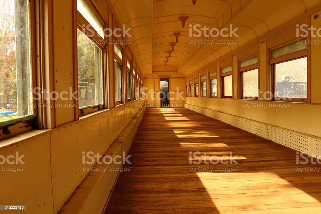 Old train Cart stock photo