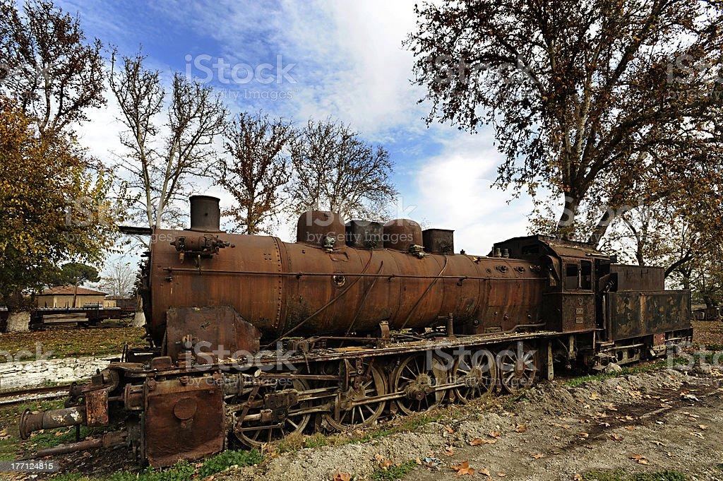 old train stock photo