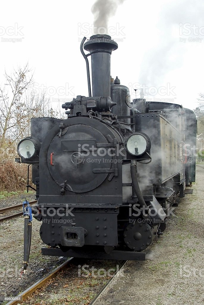Old Train royaltyfri bildbanksbilder