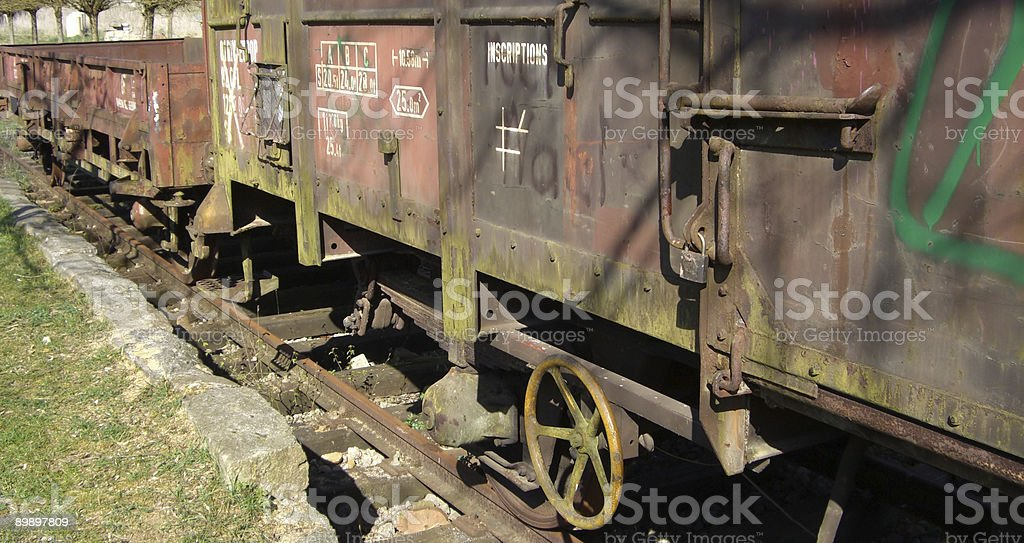 Old train royalty-free stock photo