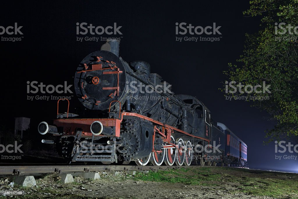 old train station in Turkey. stock photo