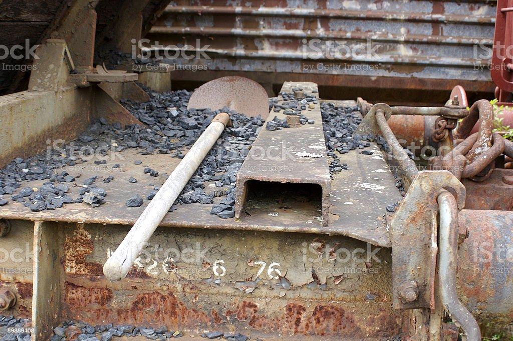 Old Train Yard royalty-free stock photo
