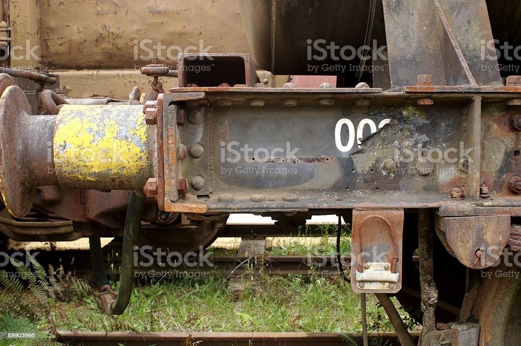Old Trains royalty-free stock photo