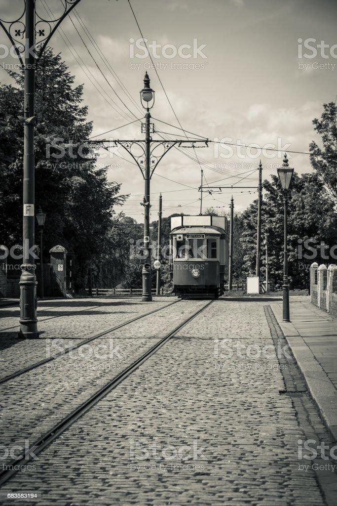 Old Tram Car stock photo