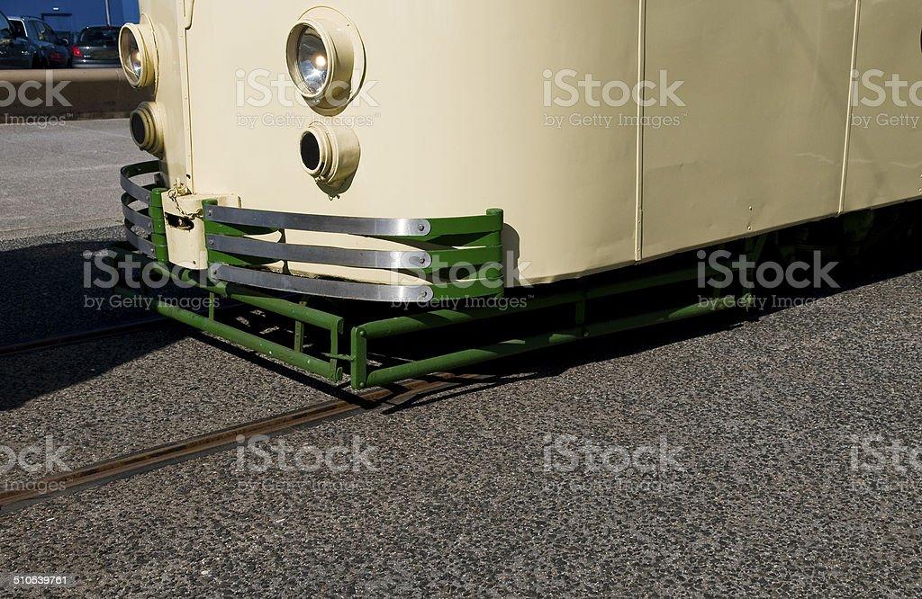 Alte Straßenbahn – Foto