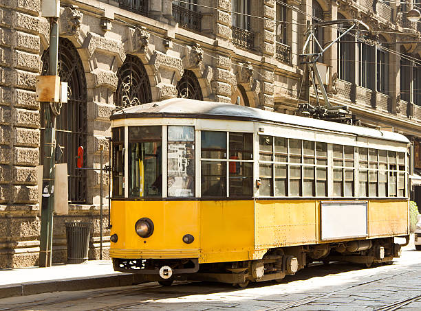 Old Tramway stock photo