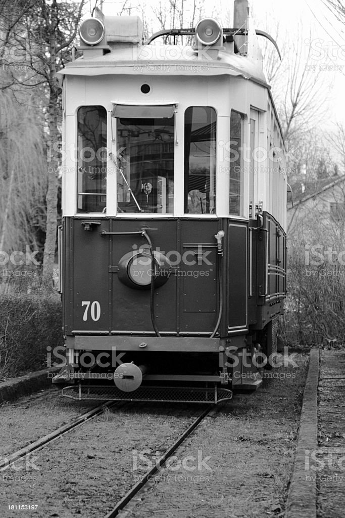 old tramway royalty-free stock photo