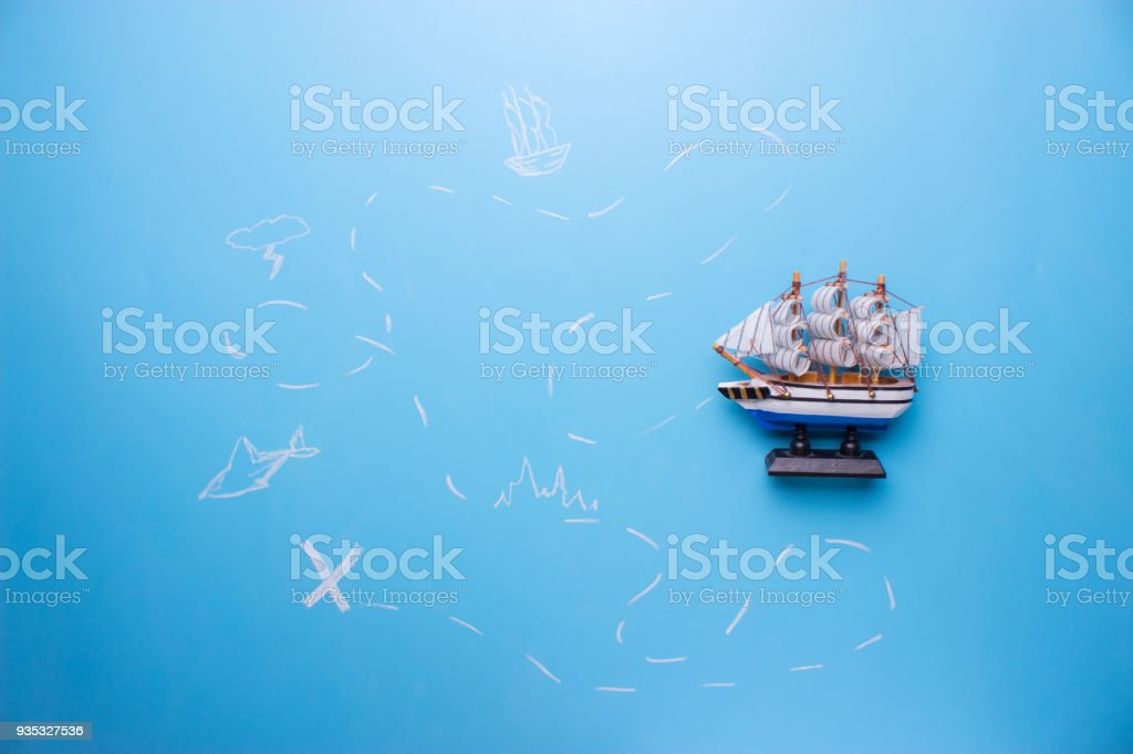 Old Treasure Map Stock Photo More Pictures Of Adventure