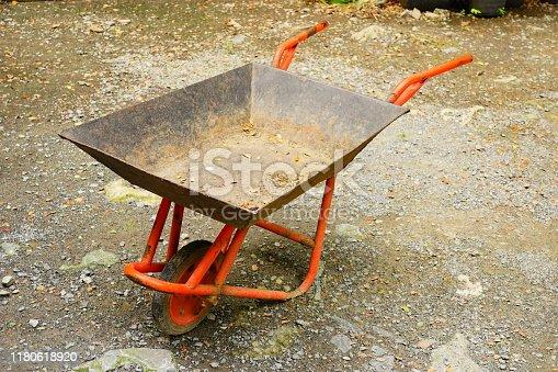 Thailand, Building Contractor, Cart, Cement, Concrete