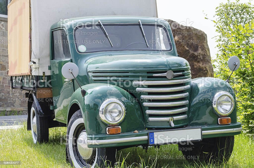 Old truck, classic car royalty-free stock photo