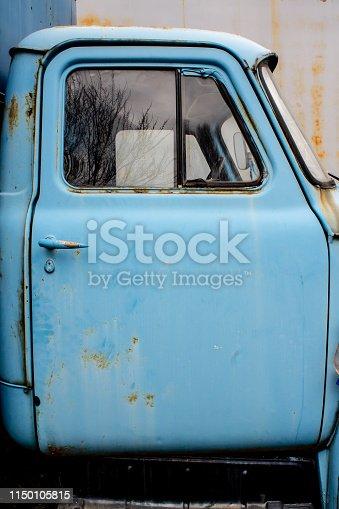 old truck door