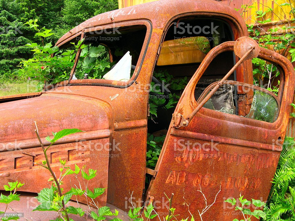 Old Truck royalty free stockfoto