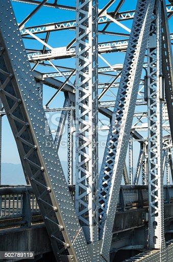 826748544 istock photo Old truss Bridge. 502789119