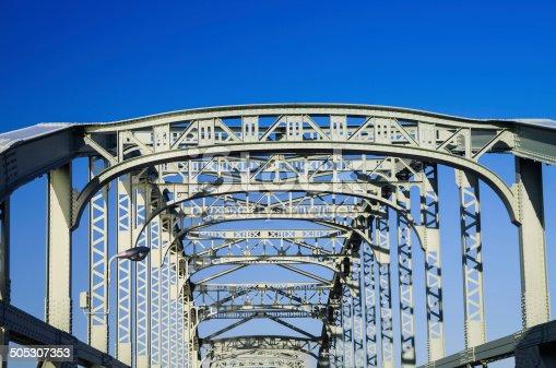 826748544 istock photo Old truss Bridge. 505307353