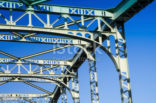 826748544 istock photo Old truss Bridge. 505365121