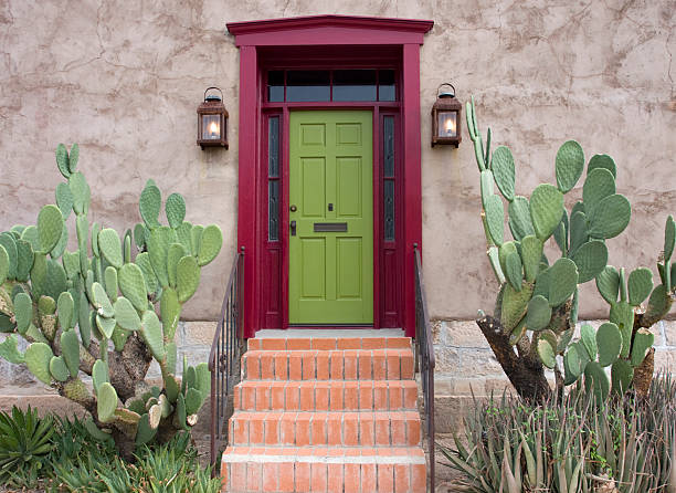 Old Tucson, house entrance  tucson stock pictures, royalty-free photos & images