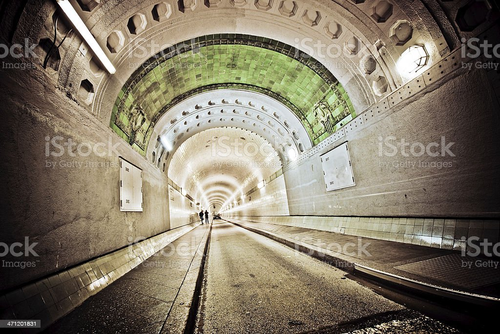 old Tunnel royalty-free stock photo