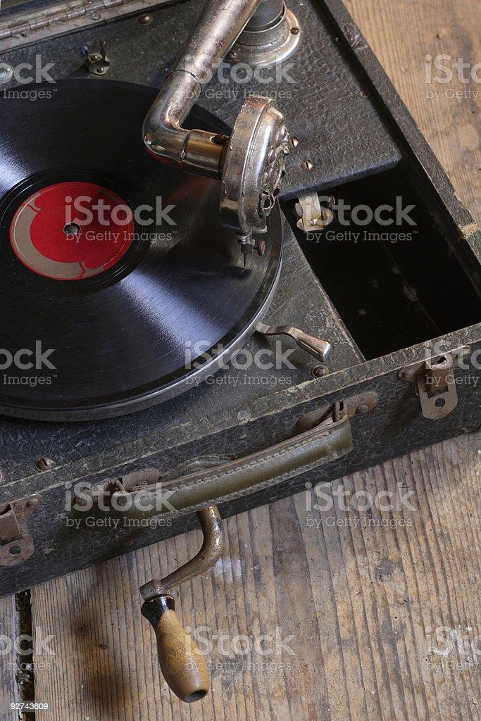 Alte Plattenspieler Lizenzfreies stock-foto