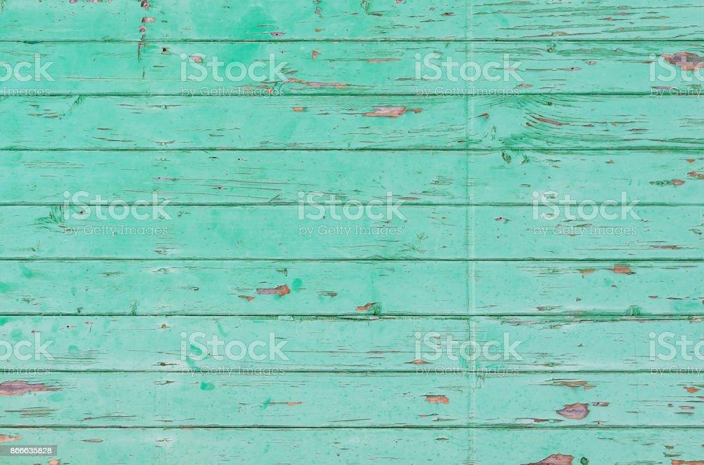 Vieja textura de madera turquesa - foto de stock