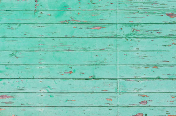 old turquoise wood texture - teal backgrounds stock photos and pictures