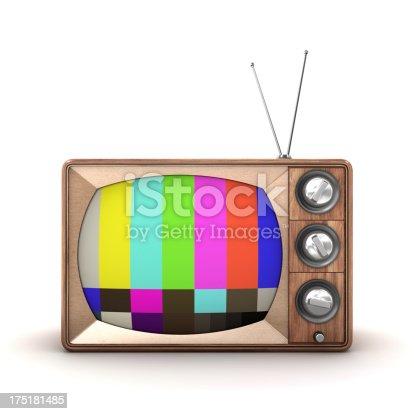 istock Old TV 175181485